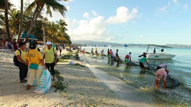 'Thiên đường biển đảo' Boracay có thể đóng cửa từ 26/4 - ảnh 1