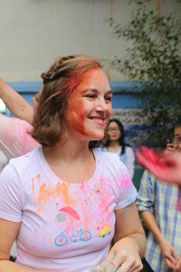 Những khoảnh khắc ấn tượng của Lễ hội sắc màu Ấn Độ 2018 tại Việt Nam - Ảnh 5.