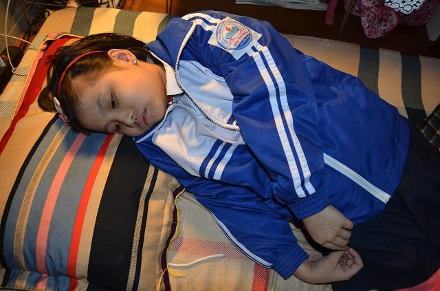 Thương bé gái 9 tuổi hiếu học mắc bệnh ung thư hạch - Ảnh 1.