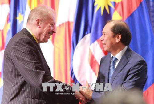 Khai mạc cuộc họp lần thứ 12 Nhóm các Chuyên gia và Nhân vật nổi tiếng của Diễn đàn Khu vực ASEAN - Ảnh 1.