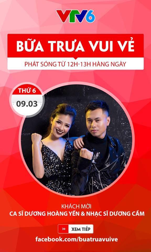 Bữa trưa vui vẻ chào đón cặp đôi ca sĩ Dương Hoàng Yến - nhạc sĩ Dương Cầm - Ảnh 1.
