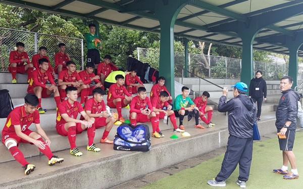 U16 Việt Nam ngược dòng thắng U16 Lào ở trận mở màn giải U16 Nhật Bản - ASEAN 2018 - Ảnh 1.