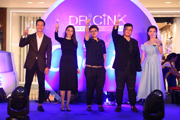 Dàn sao Việt háo hức tìm hiểu dòng mỹ phẩm mới Dr.Cink - Ảnh 3.