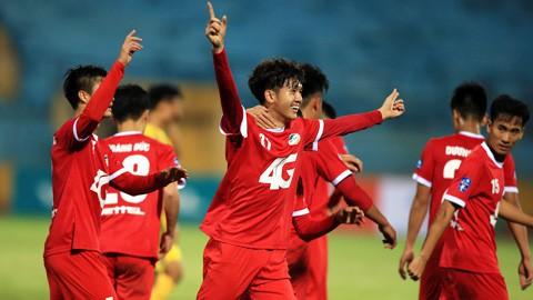 Giải Hạng Nhất Quốc gia 2018 khởi tranh trên VTVcab: Tâm điểm derby Viettel - Hà Nội B - Ảnh 1.