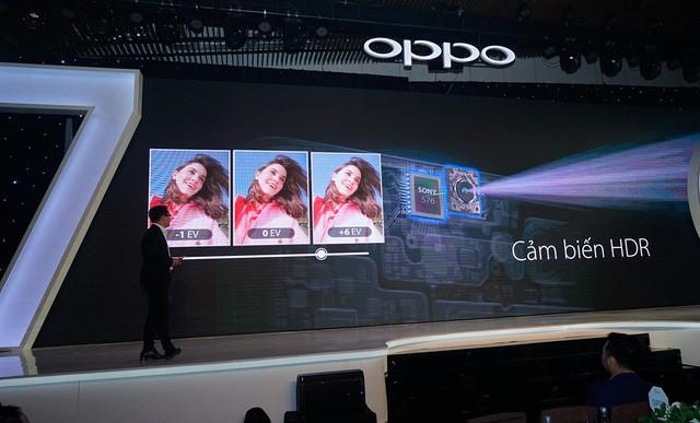 Oppo F7 tai thỏ với camera trước 25MP có giá gần 8 triệu đồng tại Việt Nam - Ảnh 1.