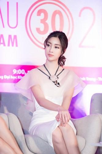 Đỗ Mỹ Linh đọ sắc cùng 2 Á hậu Thanh Tú, Thuỳ Dung - Ảnh 13.