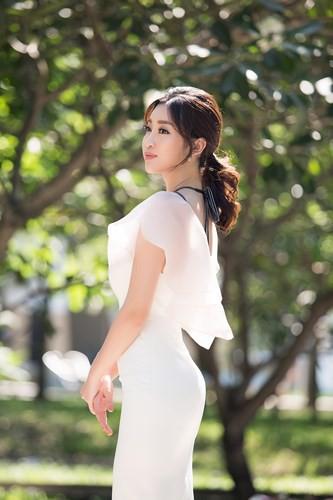 Đỗ Mỹ Linh đọ sắc cùng 2 Á hậu Thanh Tú, Thuỳ Dung - Ảnh 4.