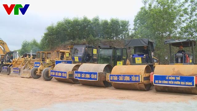 Thừa Thiên Huế: Động thổ xây dựng dự án Công viên Vườn Địa Đàng - Ảnh 1.