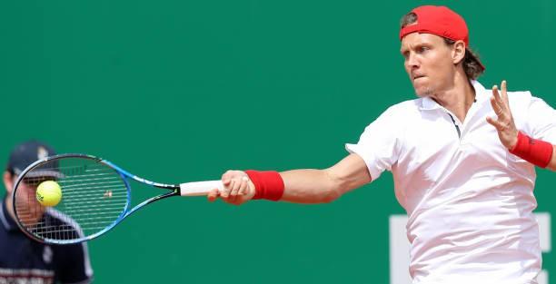 Monte Carlo Masters 2018: Nishikori loại Berdych, Djokovic thắng nhàn đồng hương - Ảnh 2.
