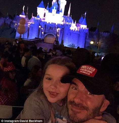 Gia đình Beckham vui vẻ đi chơi ở Disneyland - Ảnh 8.