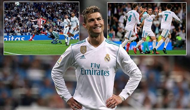 Kết quả bóng đá châu Âu rạng sáng 19/4: MU thắng dễ, Real bị A.Bilbao cầm hòa - Ảnh 2.