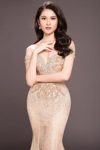 Hoa hậu Mỹ Linh kiêu sa đọ dáng bên hai Á hậu Thanh Tú và Thùy Dung - Ảnh 4.