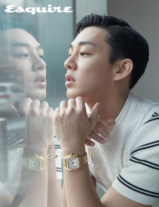 Park Hae Jin và Yoo Ah In đọ độ lạnh lùng trên tạp chí - Ảnh 9.