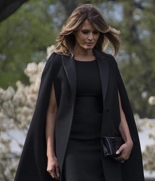 Gu thời trang biết nói của Đệ nhất phu nhân Mỹ - Ảnh 1.