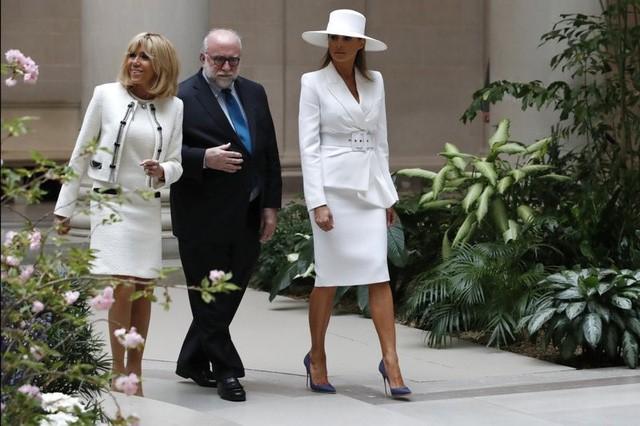 Gu thời trang biết nói của Đệ nhất phu nhân Mỹ - Ảnh 2.