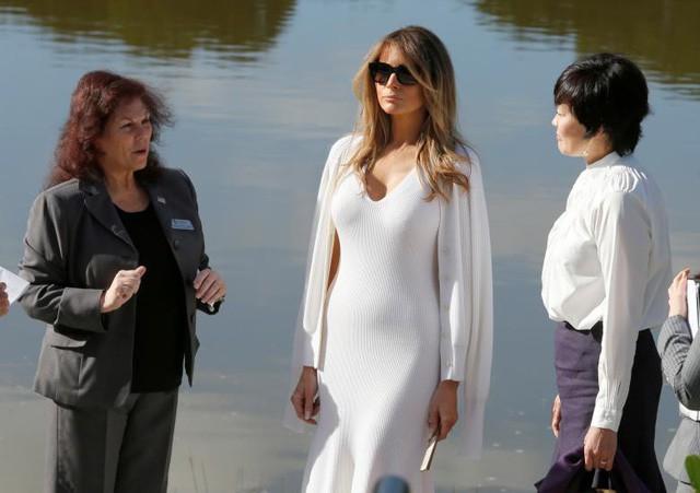 Gu thời trang biết nói của Đệ nhất phu nhân Mỹ - Ảnh 7.