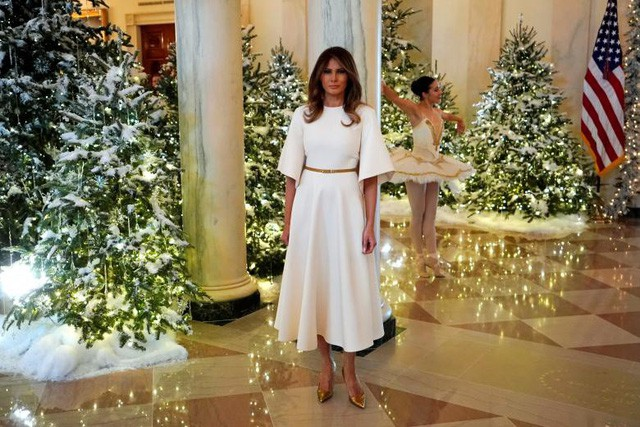 Gu thời trang biết nói của Đệ nhất phu nhân Mỹ - Ảnh 9.