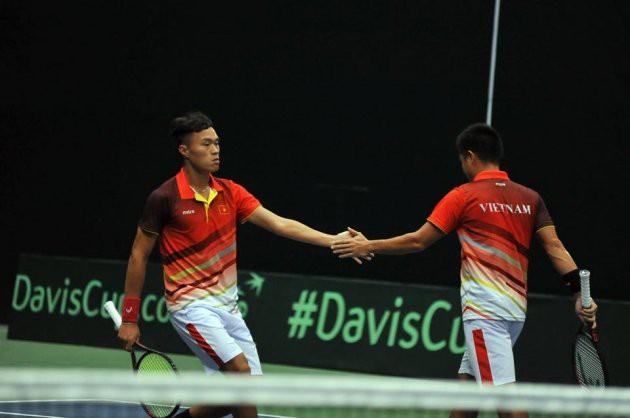 Vượt qua ĐT Campuchia, ĐT Việt Nam giành vé vào vòng 2 Davis Cup 2018 - Ảnh 2.