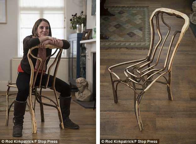 """Kỳ lạ những chiếc ghế """"xấu xí"""" có giá hàng trăm triệu - Ảnh 3."""