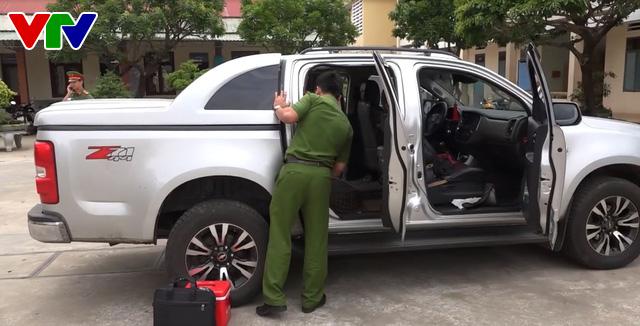 Bình Định bắt vụ vận chuyển thuốc lá lậu quy mô lớn, thu giữ 12.500 bao thuốc - Ảnh 1.