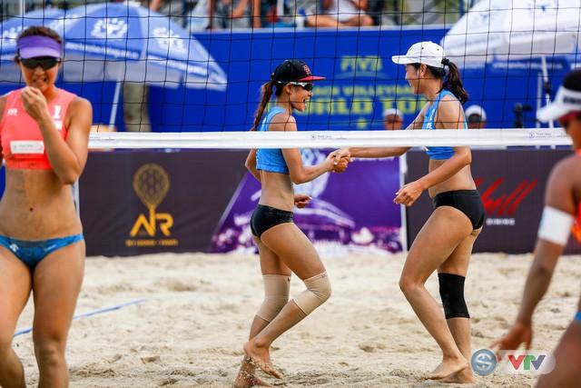 Ảnh: Những khoảnh khắc ấn tượng tại giải bóng chuyền bãi biển nữ thế giới - Tuần Châu Hạ Long mở rộng 2018 ngày 11/5 - Ảnh 15.