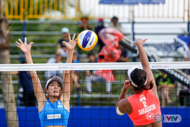 Ảnh: Những khoảnh khắc ấn tượng tại giải bóng chuyền bãi biển nữ thế giới - Tuần Châu Hạ Long mở rộng 2018 ngày 11/5 - Ảnh 14.