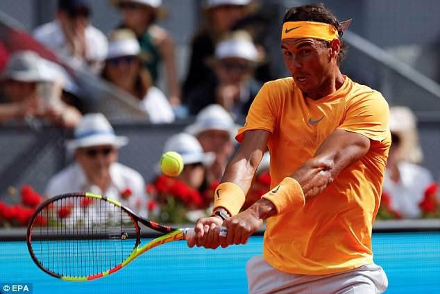 Tứ kết Madrid mở rộng 2018: Dominic Thiem chặn đứng Nadal - Ảnh 1.