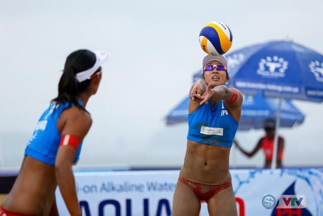 Ảnh: Những khoảnh khắc ấn tượng tại giải bóng chuyền bãi biển nữ thế giới - Tuần Châu Hạ Long mở rộng 2018 ngày 11/5 - Ảnh 1.