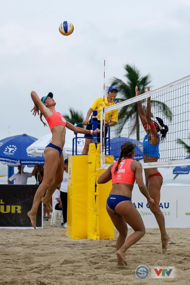 Ảnh: Những khoảnh khắc ấn tượng tại giải bóng chuyền bãi biển nữ thế giới - Tuần Châu Hạ Long mở rộng 2018 ngày 11/5 - Ảnh 2.