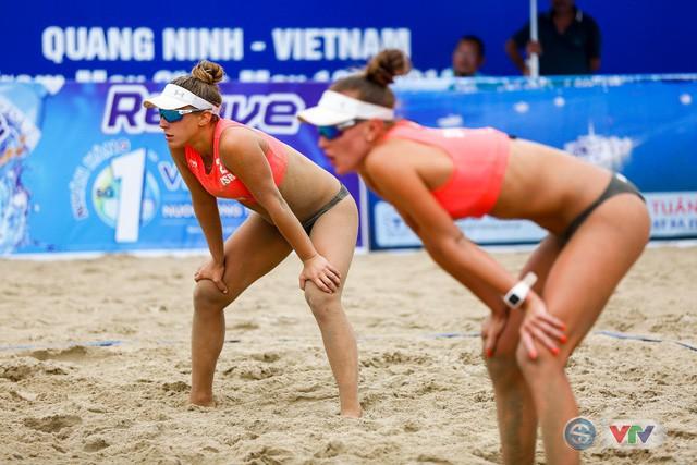 Ảnh: Những khoảnh khắc ấn tượng tại giải bóng chuyền bãi biển nữ thế giới - Tuần Châu Hạ Long mở rộng 2018 ngày 11/5 - Ảnh 7.