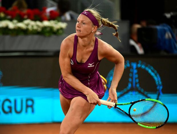 Thắng kịch tính Bertens, Kvitova lên ngôi tại giải quần vợt Madrid mở rộng 2018 - Ảnh 1.