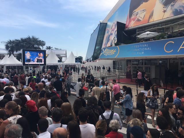 Hé lộ hàng rào an ninh nghiêm ngặt bảo vệ bộ sưu tập triệu đô tại Cannes - Ảnh 1.