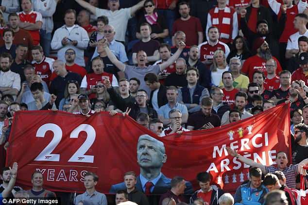 ẢNH: Trận đấu cuối cùng đầy cảm xúc của HLV Wenger - Ảnh 13.