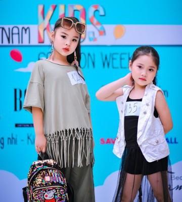 Vân Hugo, Hồng Quế cùng chấm casting Tuần lễ thời trang trẻ em - Ảnh 3.