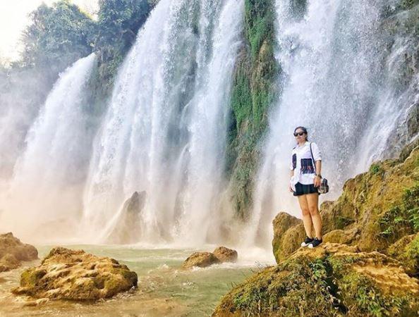 Chiêm ngưỡng vẻ đẹp nghẹt thở của thác nước đẹp nhất Việt Nam - Ảnh 8.