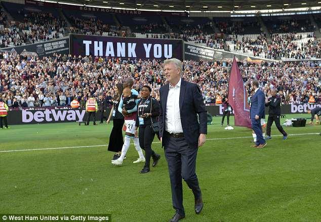 West Ham sa thải HLV David Moyes - Ảnh 1.