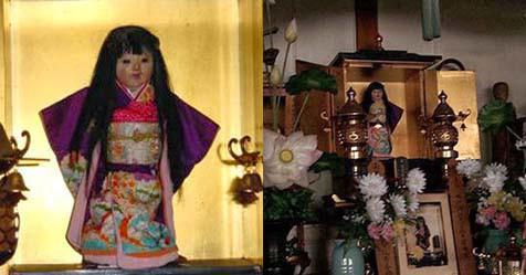 Ngôi đền cổ hút khách nhờ lời đồn bí ẩn về câu chuyện búp bê tóc tự mọc dài - ảnh 2