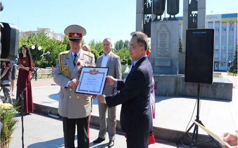 Gặp gỡ cựu chiến binh Việt Nam - Ukraine sau 73 năm chiến thắng phát xít - Ảnh 3.