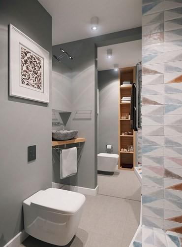 Căn hộ 34 m2 kết hợp phòng khách và phòng ngủ tiện lợi - Ảnh 8.
