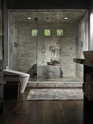 Mẫu phòng tắm đẹp hiện đại và tiện nghi - Ảnh 1.