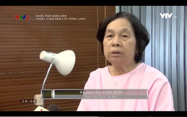 Cô giáo về hưu chia sẻ kinh nghiệm chữa thoát vị đĩa đệm không cần phẫu thuật - Ảnh 1.