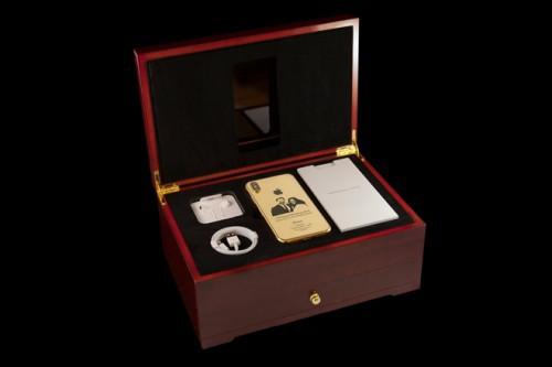 Cận cảnh iPhone X phiên bản 'đám cưới Hoàng gia' giá gần 90 triệu đồng - Ảnh 1.