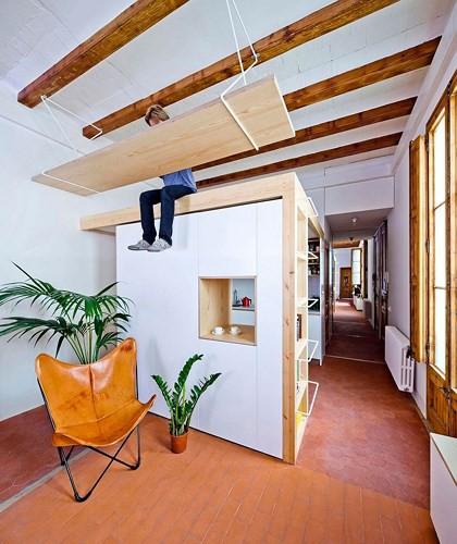 Sử dụng nội thất sáng tạo trong căn hộ 70m2 - Ảnh 2.