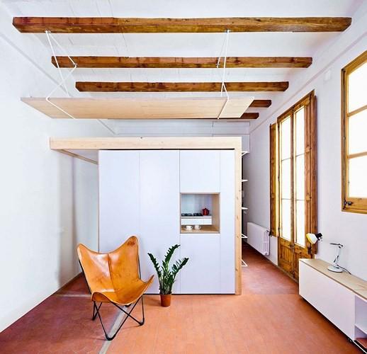 Sử dụng nội thất sáng tạo trong căn hộ 70m2 - Ảnh 4.