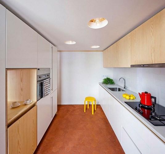Sử dụng nội thất sáng tạo trong căn hộ 70m2 - Ảnh 6.