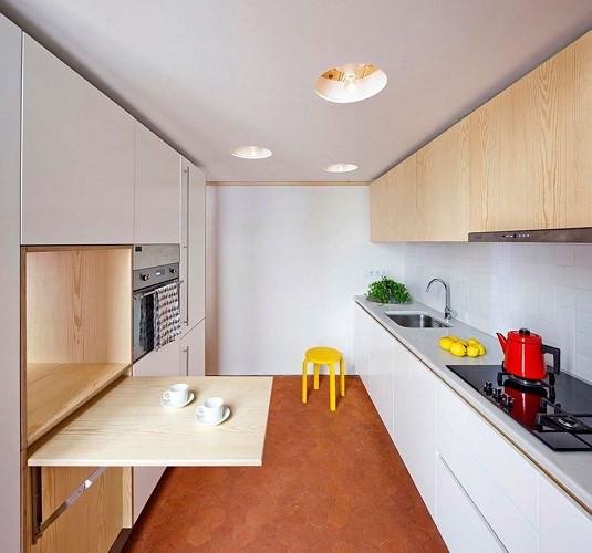Sử dụng nội thất sáng tạo trong căn hộ 70m2 - Ảnh 7.