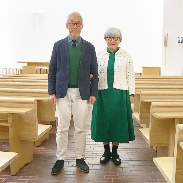 Cặp vợ chồng nổi tiếng ở tuổi U70 vì… mặc đồ đôi tuyệt đẹp - Ảnh 11.