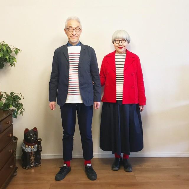 Cặp vợ chồng nổi tiếng ở tuổi U70 vì… mặc đồ đôi tuyệt đẹp - Ảnh 12.
