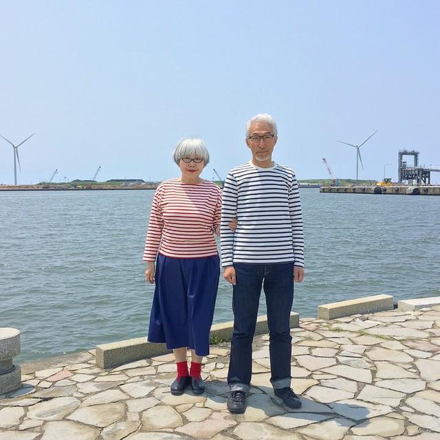 Cặp vợ chồng nổi tiếng ở tuổi U70 vì… mặc đồ đôi tuyệt đẹp - Ảnh 13.