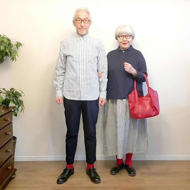 Cặp vợ chồng nổi tiếng ở tuổi U70 vì… mặc đồ đôi tuyệt đẹp - Ảnh 14.